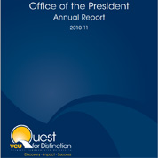 VCU Presidential 2010-11 Annual Report