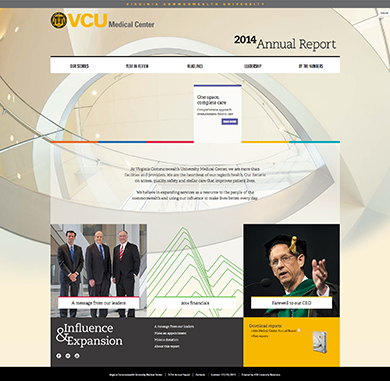 Virginia Commonwealth University Medical Center Annual Report 2014